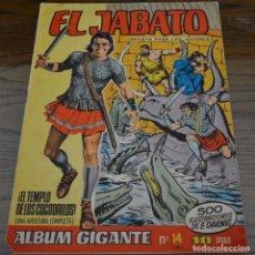 Giornalini: EL JABATO ALBUM GIGANTE Nº 14. LITERACOMIC.. Lote 80816587