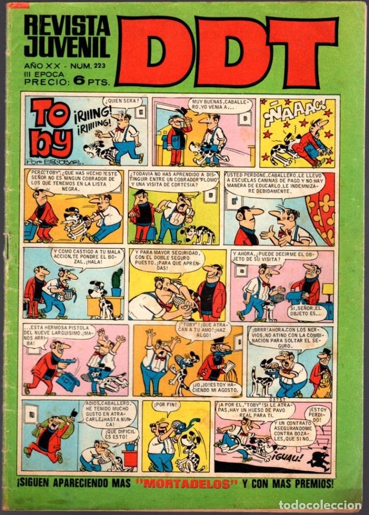 DDT. 3ª EPOCA. Nº 223. AÑO 1971 (Tebeos y Comics - Bruguera - DDT)