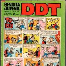 Tebeos: DDT. 3ª EPOCA. Nº 223. AÑO 1971. Lote 80847723