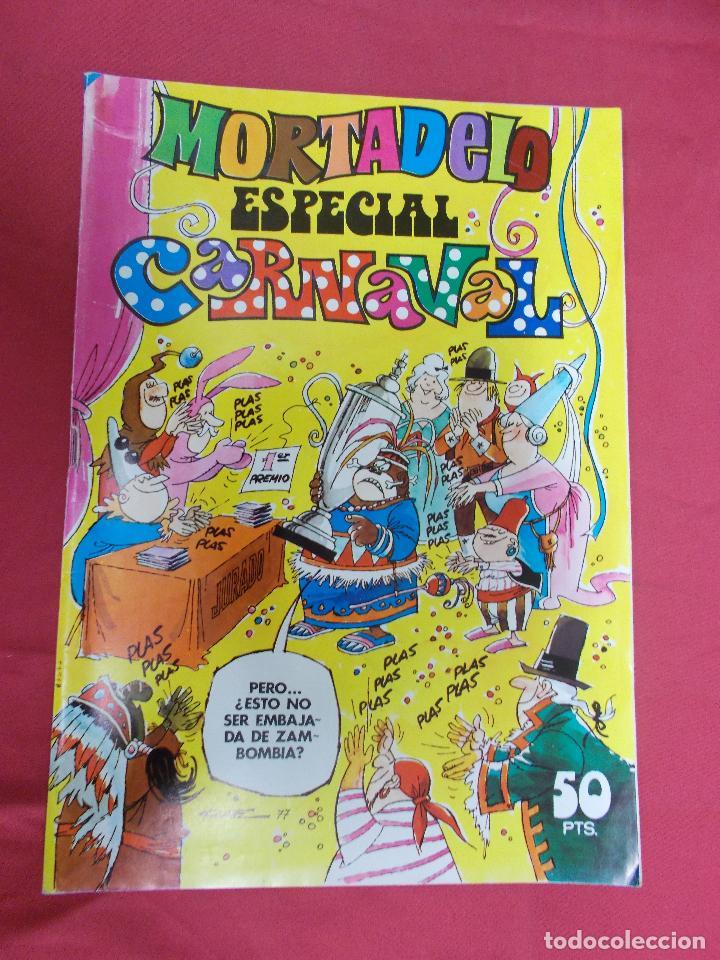 MORTADELO. ESPECIAL CARNAVAL. Nº 31. EDITORIAL BRUGUERA. (Tebeos y Comics - Bruguera - Mortadelo)