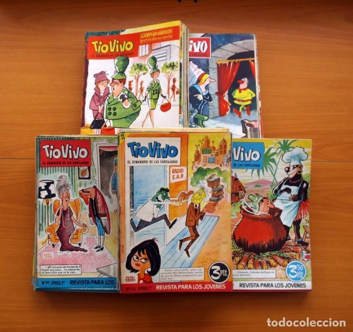 Tebeos: TIO VIVO, TIOVIVO 2ª época -Colección a falta de 2 tebeos - E. Bruguera 1961 - Ver fotos interiores - Foto 2 - 80924788