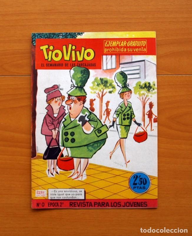 Tebeos: TIO VIVO, TIOVIVO 2ª época -Colección a falta de 2 tebeos - E. Bruguera 1961 - Ver fotos interiores - Foto 7 - 80924788