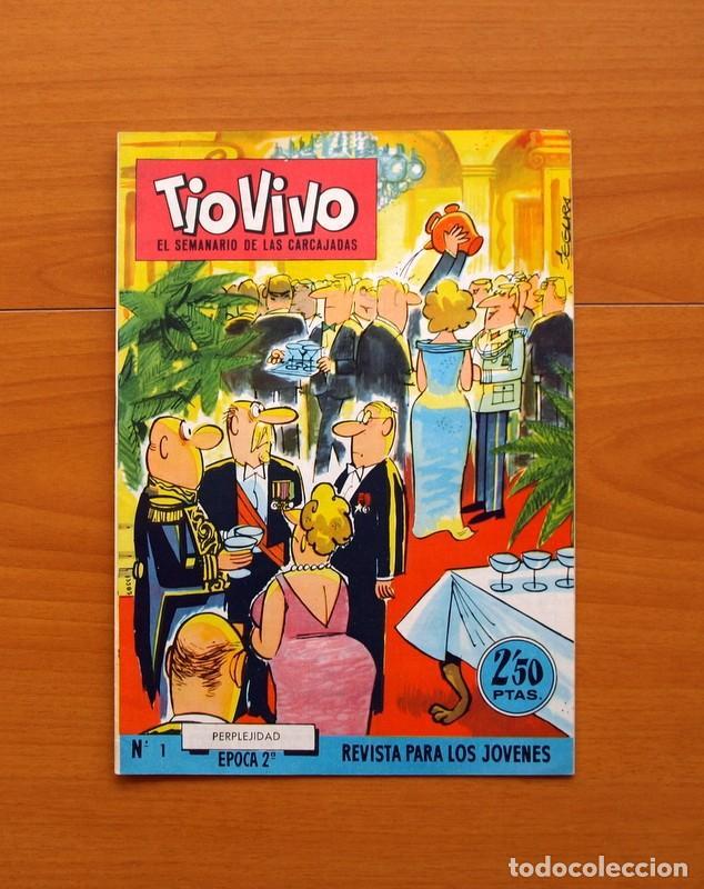 Tebeos: TIO VIVO, TIOVIVO 2ª época -Colección a falta de 2 tebeos - E. Bruguera 1961 - Ver fotos interiores - Foto 10 - 80924788