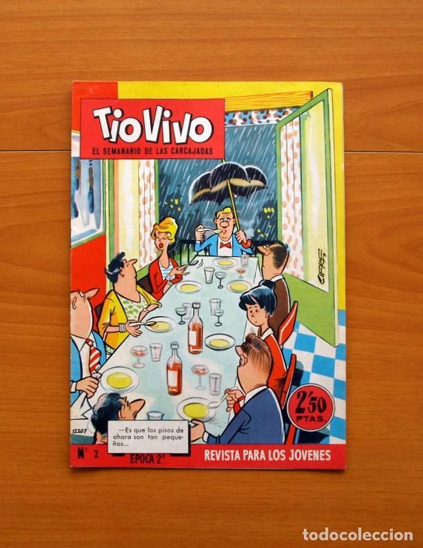 Tebeos: TIO VIVO, TIOVIVO 2ª época -Colección a falta de 2 tebeos - E. Bruguera 1961 - Ver fotos interiores - Foto 13 - 80924788