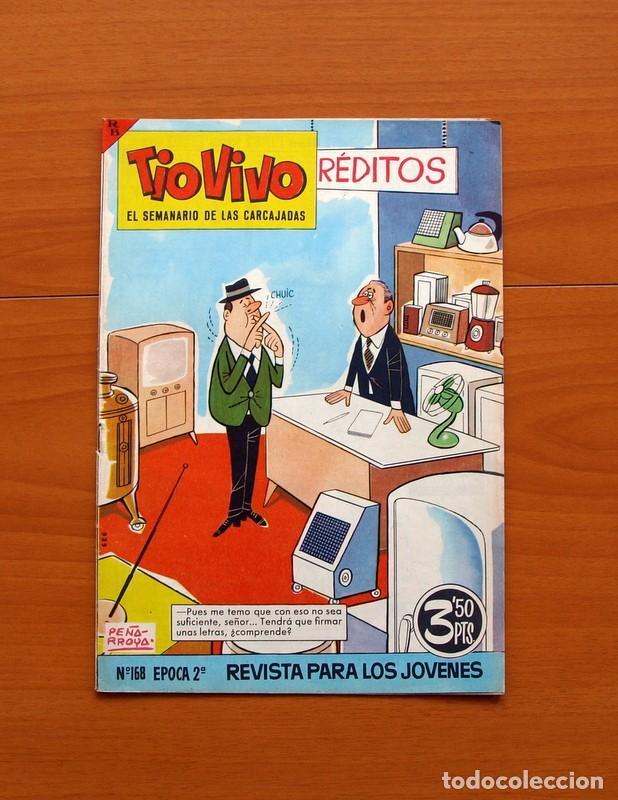 Tebeos: TIO VIVO, TIOVIVO 2ª época -Colección a falta de 2 tebeos - E. Bruguera 1961 - Ver fotos interiores - Foto 19 - 80924788