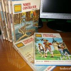 Tebeos: LOTE 10 HISTORIAS FAMOSAS - Nº 9,13,14,15,16,17,18,20,21,22 - EDITORIAL BRUGUERA - AÑOS 70.. Lote 49984095