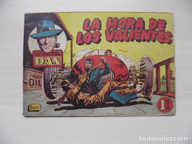 TEBEO DE EL INSPECTOR DAN (Tebeos y Comics - Bruguera - Inspector Dan)
