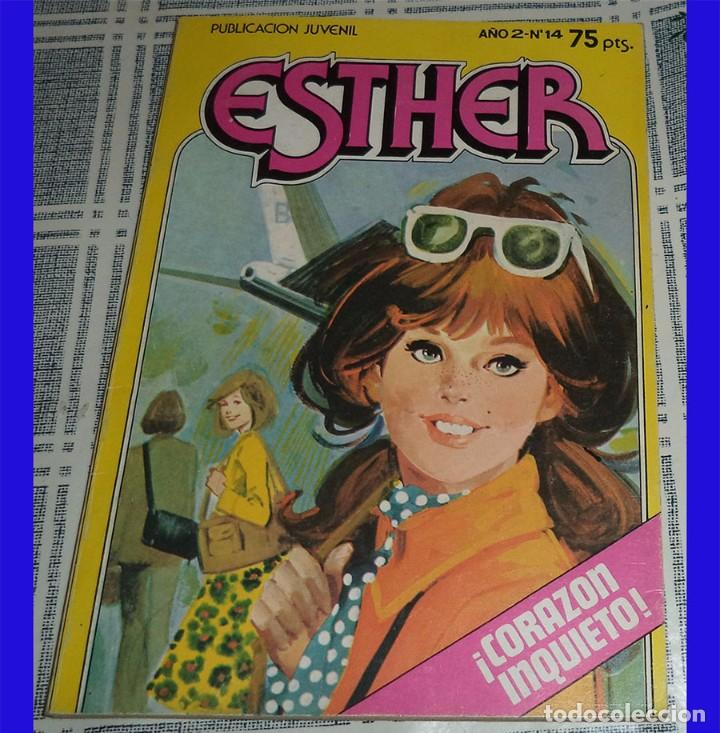 ESTHER Y SU MUNDO ED. BRUGUERA 1982 SERIE POCKET N.º 14 (Tebeos y Comics - Bruguera - Esther)