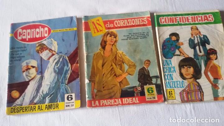 LOTE 3 NOVELAS GRÁFICAS. 2 DE BRUGUERA - 1 DE FERMA. (Tebeos y Comics - Bruguera - Cuadernillos Varios)