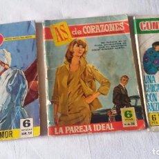 Tebeos: LOTE 3 NOVELAS GRÁFICAS. 2 DE BRUGUERA - 1 DE FERMA.. Lote 81257648