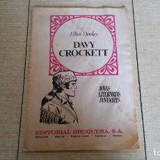 Tebeos: JOYAS LITERARIAS JUVENILES DAVY CROCKETT. Lote 81285516