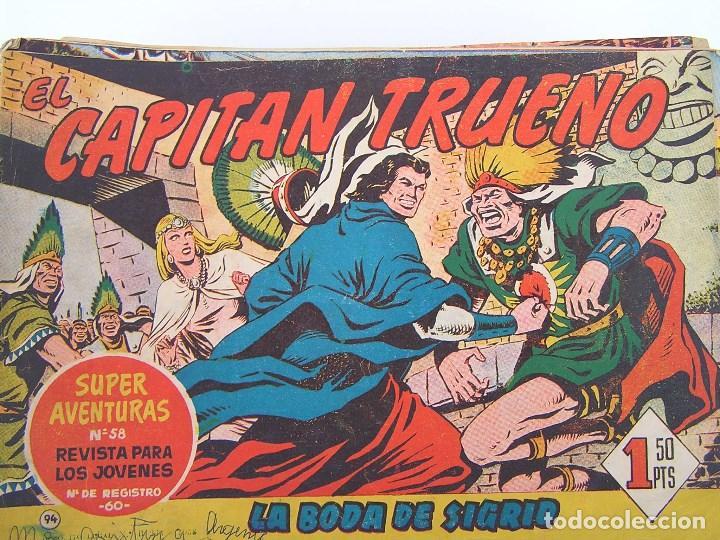 LOTE DE 200 COMICS DE EL CAPITAN TRUENO - PRIMERA SERIE - AÑOS 50/60 (VER DESCRIPCION Y FOTOS (Tebeos y Comics - Bruguera - Capitán Trueno)