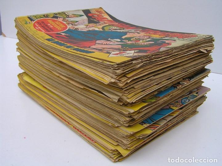 Tebeos: LOTE DE 200 COMICS DE EL CAPITAN TRUENO - PRIMERA SERIE - AÑOS 50/60 (VER DESCRIPCION Y FOTOS - Foto 3 - 81693508