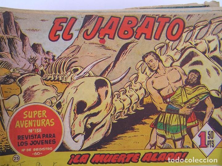 LOTE DE 192 COMICS DE EL JABATO- PRIMERA SERIE - AÑOS 50/60. - VER DESCRIPCION (Tebeos y Comics - Bruguera - Jabato)