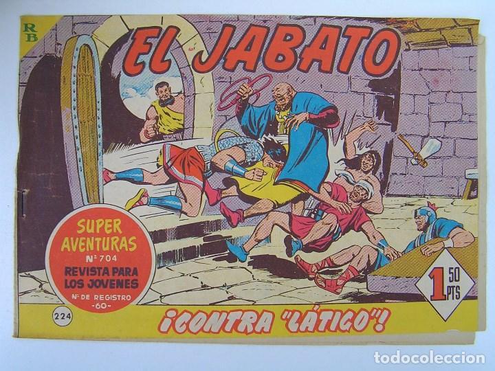 Tebeos: LOTE DE 192 COMICS DE EL JABATO- PRIMERA SERIE - AÑOS 50/60. - VER DESCRIPCION - Foto 2 - 81706616