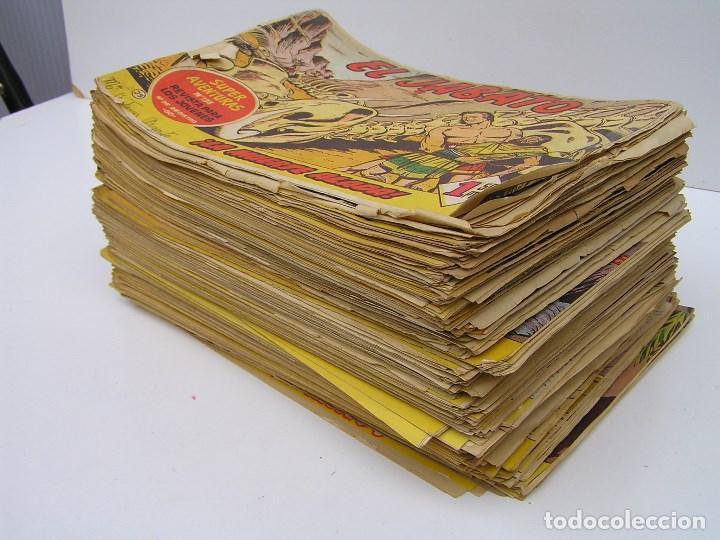 Tebeos: LOTE DE 192 COMICS DE EL JABATO- PRIMERA SERIE - AÑOS 50/60. - VER DESCRIPCION - Foto 3 - 81706616