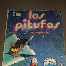 Tebeos: COLECCIÓN OLÉ Nº 7 - LOS PITUFOS 'EL COSMOPITUFO' - BRUGUERA 1ª ED. 1979 REF.059. Lote 81796624