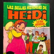 Tebeos: HEIDI .........EXTRA MENSUAL ..... LAS BELLAS HISTORIAS DE HEIDI........Nº,,,....9. Lote 81902980