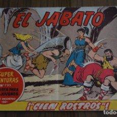 Tebeos: EL JABATO 238. ORIGINAL DE BRUGUERA. LITERACOMIC.. Lote 81979080