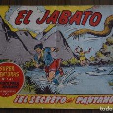 Tebeos: EL JABATO 241. ORIGINAL DE BRUGUERA. LITERACOMIC.. Lote 81979328
