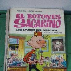 Tebeos: EL BOTONES SACARINO LOS APUROS DEL DIRECTOR. Lote 81993284