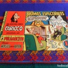 Tebeos: PULGARCITO MAGOS DE LA RISA 3 CARIOCO BROMAS ESPECTRALES. 1,25 PTS. COMO NUEVO Y MUY DIFÍCIL.. Lote 81996992