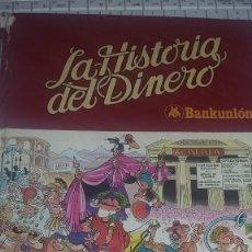 Tebeos: LA HISTORIA DEL DINERO BANKUNIÓN 1980 ED BRUGUERA REF. 095. Lote 82016664