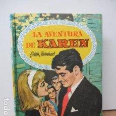 Tebeos: LA AVENTURA DE KAREN. EDITH REINHART. COL. DALIA Nº 37. BRUGERA, 1ª ED. 1960. NOVELA ILUSTRADA.. Lote 82019132
