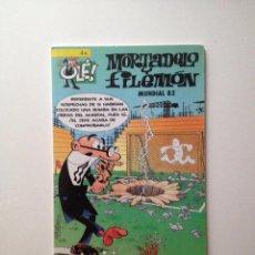 Tebeos: MORTADELO Y FILEMON :EL MUNDIAL 82. Lote 82051088