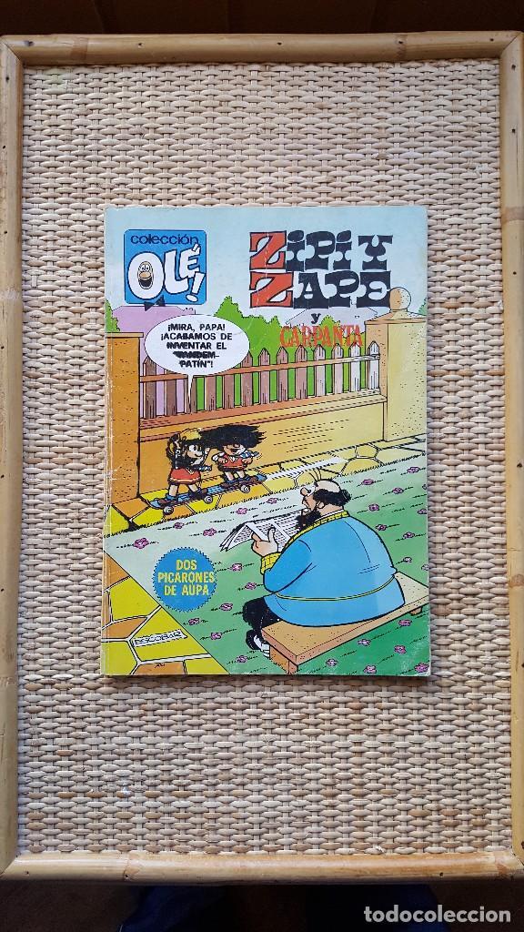 ZIPI Y ZAPE - Nº 190 - 2º EDICION - COLECCIÓN OLE BRUGUERA (Tebeos y Comics - Bruguera - Ole)