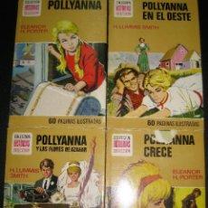 Tebeos: POLLYANNA. ELEANOR H.PORTER. SERIE POLLYANNA COMPLETA Nº 1,2,3 Y 4. HISTORIAS SELECCION. BRUGUERA.. Lote 82643608