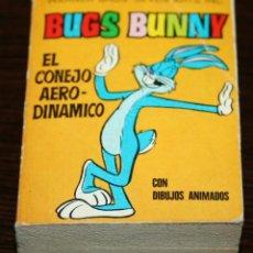 Tebeos: MINI INFANCIA - BUGS BUNNY EL CONEJO AERODINÁMICO - SERIE 28 Nº 110 - ED. BRUGUERA - 1971. Lote 82906892