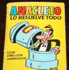 Tebeos: MINI INFANCIA - ANACLETO LO RESUELVE TODO - SERIE 32 Nº 125 - ED. BRUGUERA - 1971. Lote 82906964