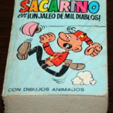 Tebeos - MINI INFANCIA - SACARINO EN UN JALEO DE MIL DIABLOS - SERIE 32 Nº 126 - ED. BRUGUERA - 1971 - 82907004