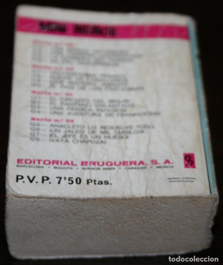 Tebeos: MINI INFANCIA - SACARINO EN UN JALEO DE MIL DIABLOS - SERIE 32 Nº 126 - ED. BRUGUERA - 1971 - Foto 2 - 82907004