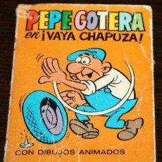 Tebeos: MINI INFANCIA - PEPE GOTERA EN VAYA CHAPUZA - SERIE 32 Nº 128 - ED. BRUGUERA - 1971. Lote 82907028