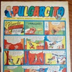 Tebeos: PULGARCITO 1255. BRUGUERA 1952. ORIGINAL (CON EL INSPECTOR DAN). Lote 83041792