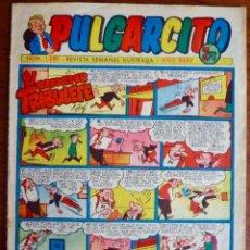 Tebeos: PULGARCITO 1281. BRUGUERA 1952. ORIGINAL (CON EL INSPECTOR DAN). Lote 83062908