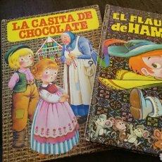 Tebeos: LOTE EL FLAUTISTA DE HAMELIN+LA CASITA DE CHOCOLATE. BRUGUERA. Lote 83487544