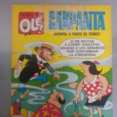Tebeos: OLE CARPANTA 1977 BRUGUERA 30 ESCOBAR. Lote 83499622