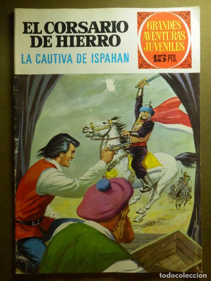 COMIC - EL CORSARIO DE HIERRO - LA CAUTIVA DE ISPAHAN - Nº 33 - BRUGUERA - 1972 (Tebeos y Comics - Bruguera - Corsario de Hierro)