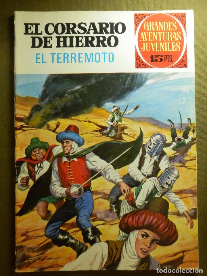 COMIC - EL CORSARIO DE HIERRO - EL TERREMOTO - Nº 57 - BRUGUERA - 1973 (Tebeos y Comics - Bruguera - Corsario de Hierro)