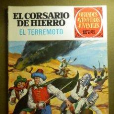 Tebeos: COMIC - EL CORSARIO DE HIERRO - EL TERREMOTO - Nº 57 - BRUGUERA - 1973. Lote 83535836