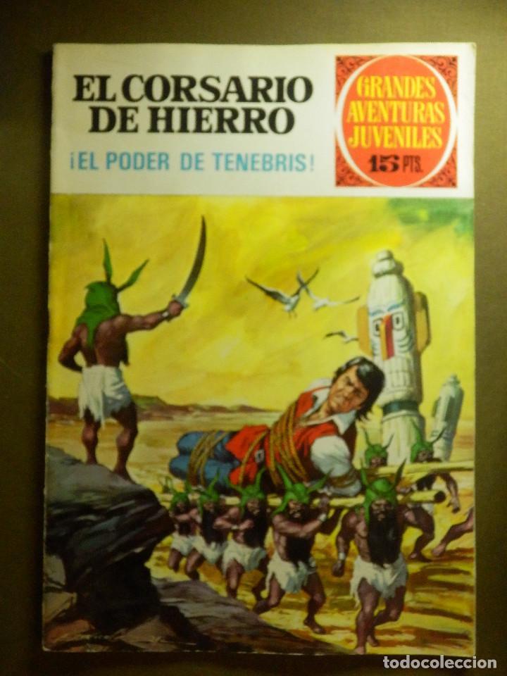 COMIC - EL CORSARIO DE HIERRO - EL PODER DE TENEBRIS - Nº 13 - BRUGUERA - 1972 (Tebeos y Comics - Bruguera - Corsario de Hierro)