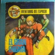 Tebeos: COMIC - AVENTURAS DEL ESPACIO - EL GRAN ENIGMA - MINI INFINITUM Nº 7 - PRODUCCIONES EDITORIALES. Lote 83536924