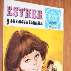 Tebeos: JOYAS LITERARIAS JUVENILES SERIE AZUL - ESTHER Y SU NUEVA FAMILIA Nº 2. Lote 83593452