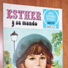 Tebeos: JOYAS LITERARIAS JUVENILES SERIE AZUL - ESTHER Y SU MUNDO Nº 1. Lote 83593912
