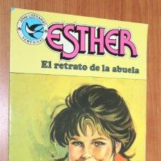 Tebeos: JOYAS LITERARIAS FEMENINAS - ESTHER EL RETRATO DE LA ABUELA Nº 100. Lote 83594236