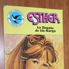 Tebeos: JOYAS LITERARIAS FEMENINAS - ESTHER LA LLEGADA DE TIA MARGA Nº 103. Lote 83594348