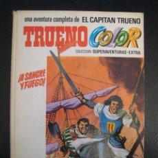 Tebeos: TRUENO COLOR SUPERAVENTURAS Nº1 ºY Nº2. ALBUM BLANCO. EDITORIAL BRUGUERA. Lote 83661128